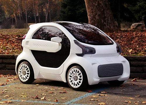 Innovatie Van De Maand Elektrische Auto Uit De 3d Printer Nieuws
